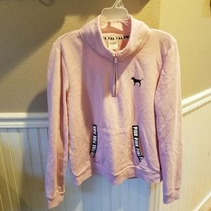 Victoria Secret's Pink Sweatshirt 1/4 Zip